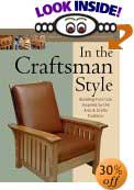 In the Craftsman Style: Building Furniture Inspired by the Arts & Crafts Tradition by Fine Woodworking (Editor), Tim Schreiner (Introduction)